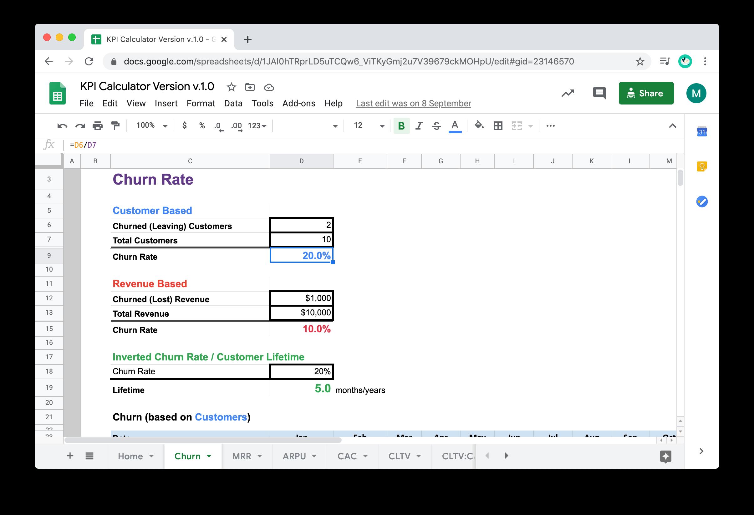 KPI Calculator Version v.1.0 - Google Sheets 2020-11-03 20-21-04